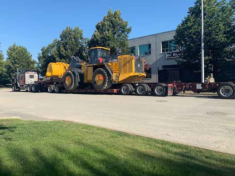 Deere 944 Loader Transport Truck Lower Mainland